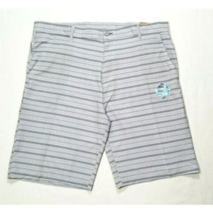 Burnside Sz 40 Striped Walkshort Boardshort 2489E2
